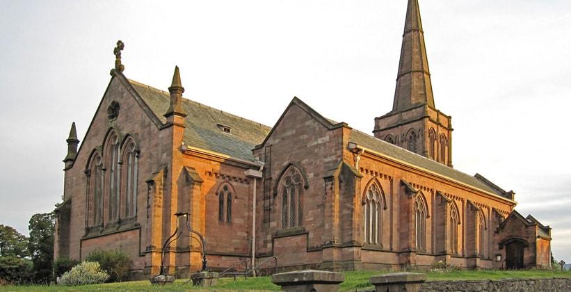 Церковь Святого Джона в Кесвике (Англия)