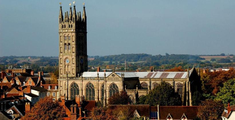 Церковь Святой Марии в Уорике (Англия)