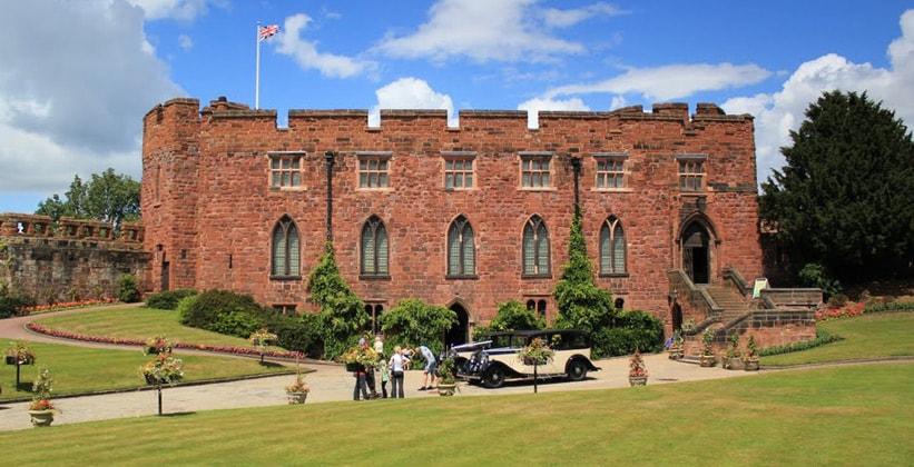 Шрусберский замок в Англии