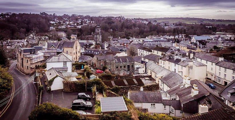 Городок Тависток в Англии
