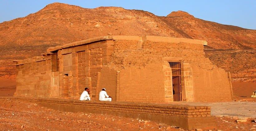 Храм Амады в Египте