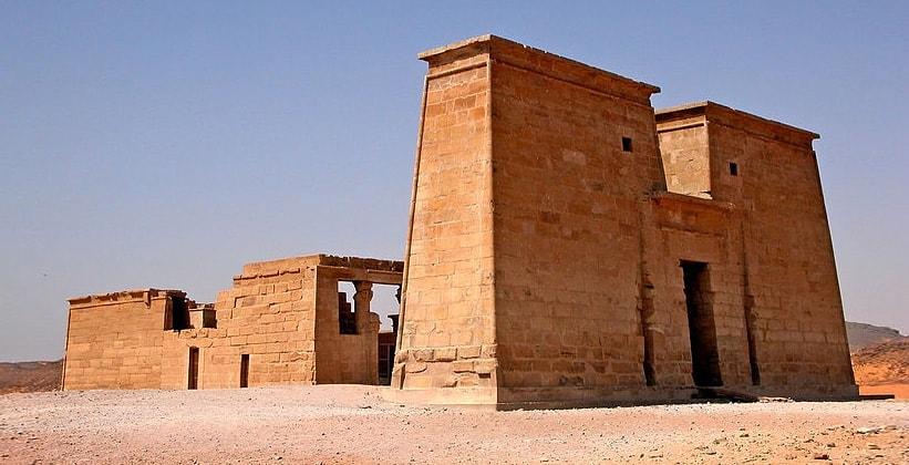 Храм Дакки в Египте