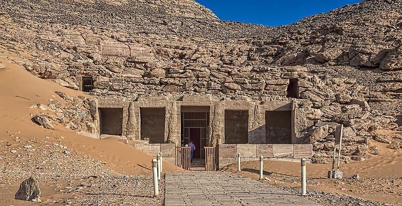 Храм Дерра в Египте