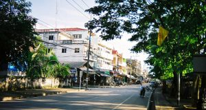 Город Чиангсен в Таиланде