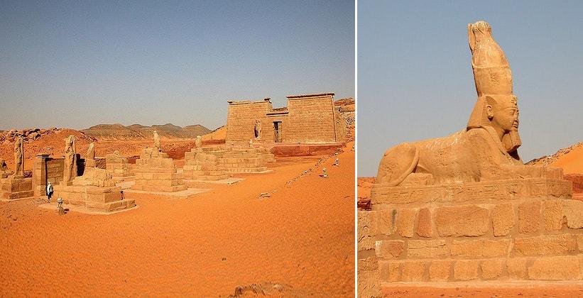 Храм Вади эс-Себуа в Египте