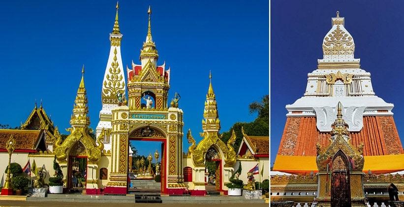 Храм Ват Пхра Тхат Пханом в Таиланде