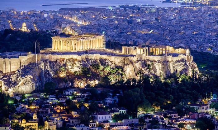 Афинский Акрополь в Греции