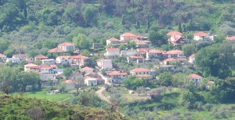 Деревня Агнанда в Греции
