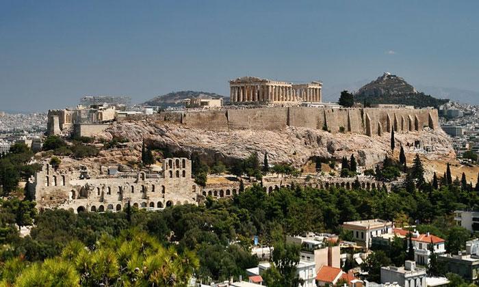 Античный Афинский Акрополь
