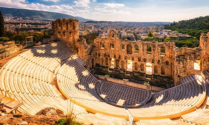 Одеон (театр) Герода Аттика в Афинах