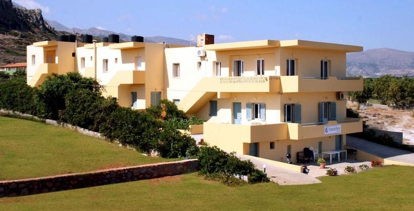 Апартаменты Nautilus на острове Крит