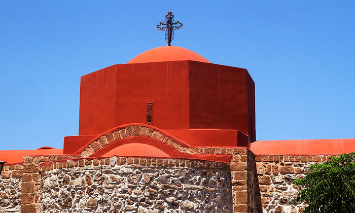 Одна из церквей Родоса