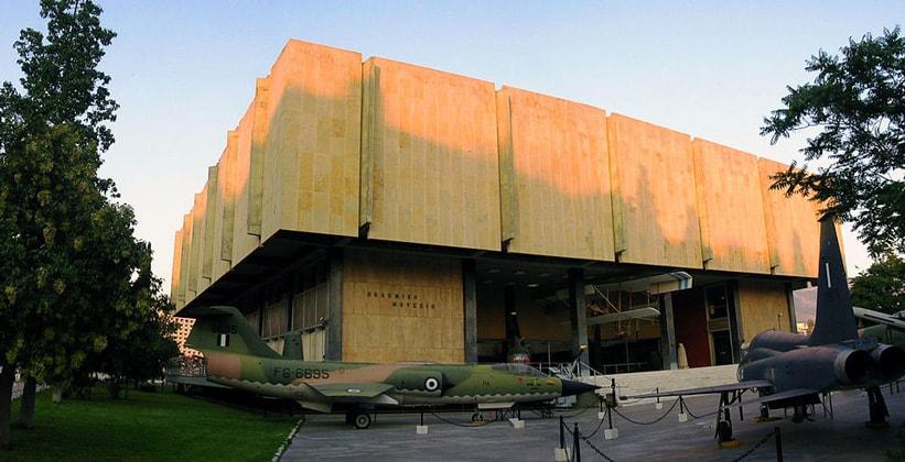 Военный музей в Афинах (Греция)