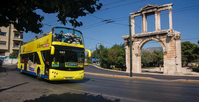 Автобусные экскурсии в Афинах (Греция)