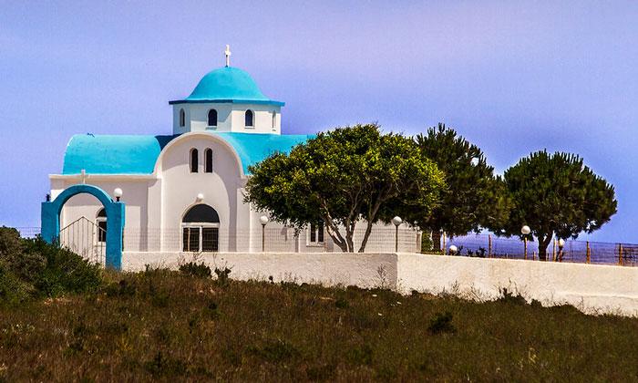 Одна из церквей острова Кос