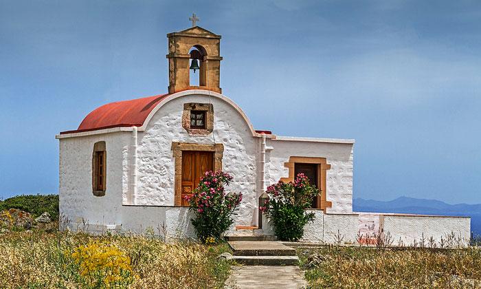 Небольшая церковь Патмоса