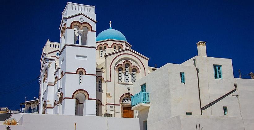 Одна из церквей острова Наксос