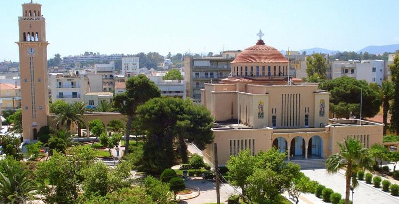 Современный город Коринф (церковь Святого Павла)