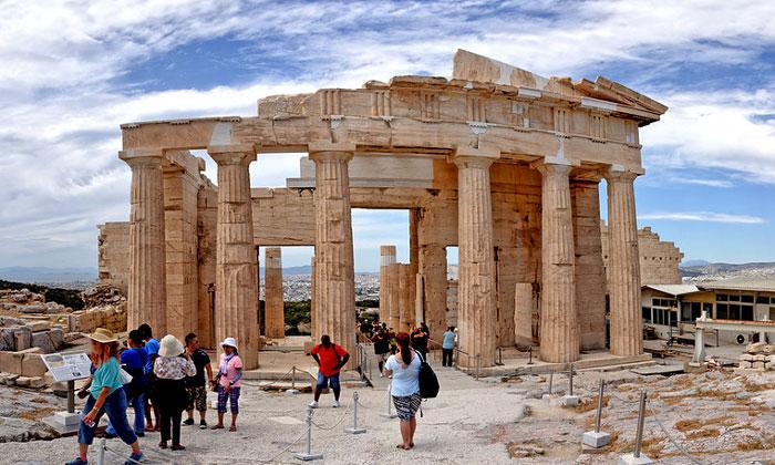 Древний Акрополь (Пропилеи) Афин