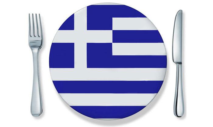 Еда и напитки в Греции