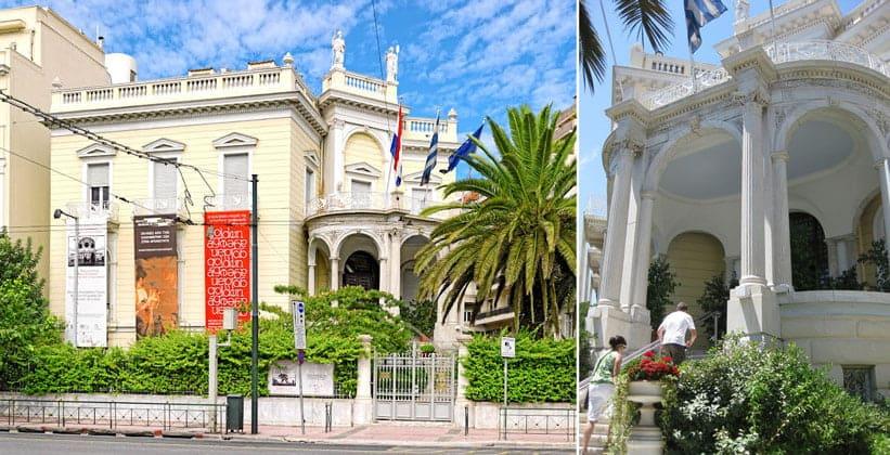 Музей кикладского искусства в Афинах (Греция)