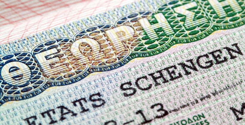 Туристическая виза в Грецию