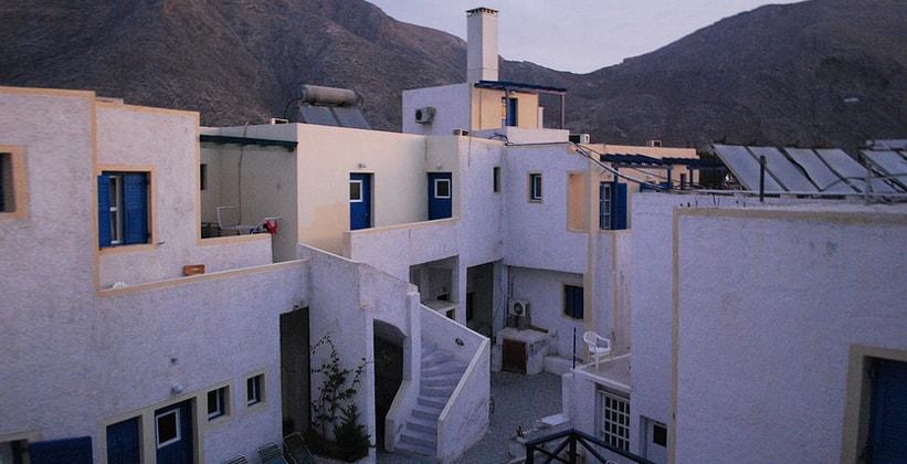 Один из греческих хостелов