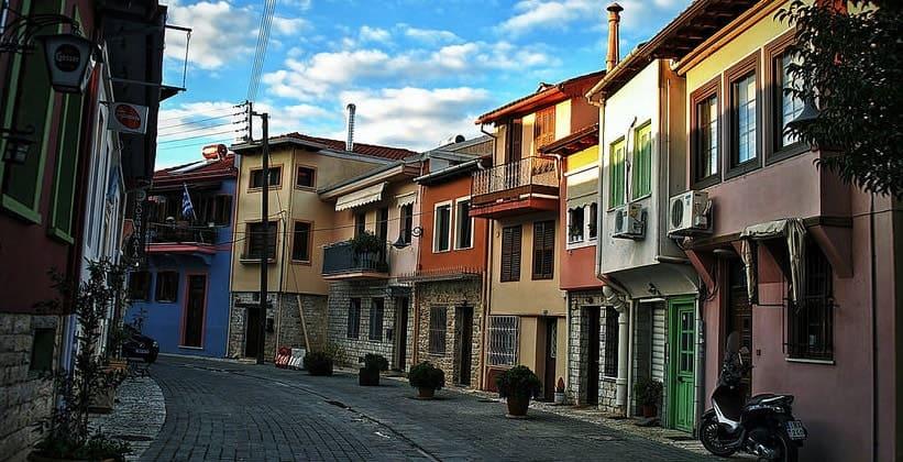 Городок Янина в Греции