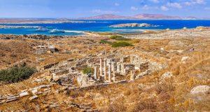 остров Дилос в Греции