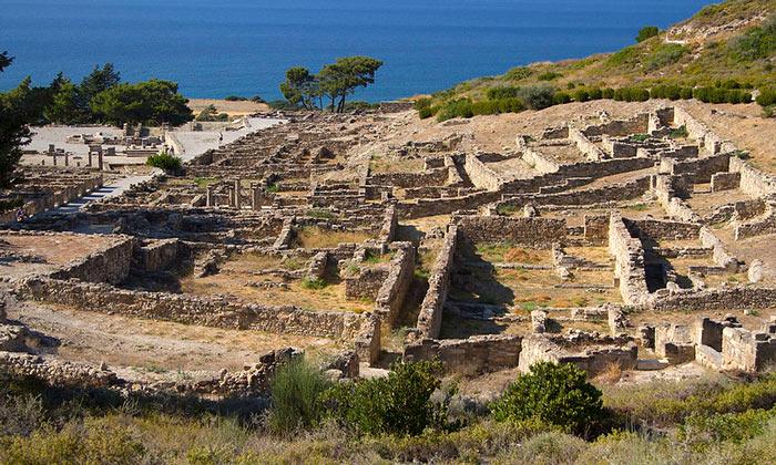 Остатки Камира (остров Родос)