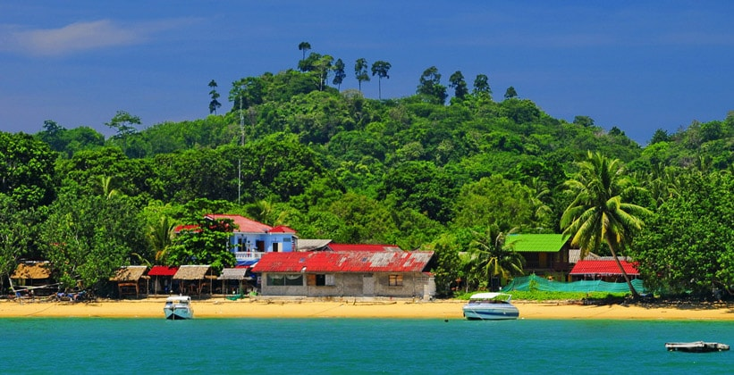Таиландский остров Ко Паям