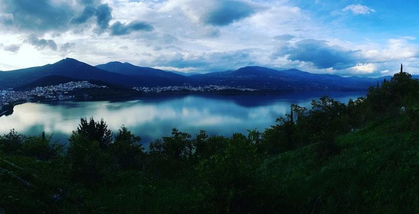Озеро Орестиас в Греции