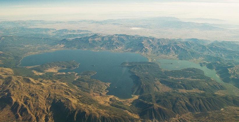 Греческие озёра Преспа
