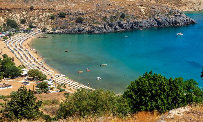 Пляж «Линдос» (остров Родос)