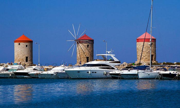 Ветряные мельницы (остров Родос)