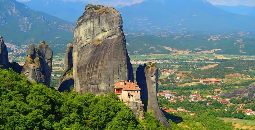 Византийские монастыри Метеоры в Греции