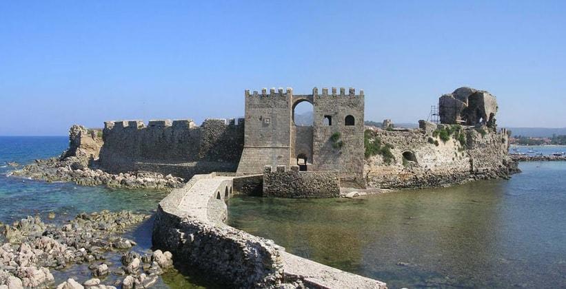 Крепость в Метони (Греция)