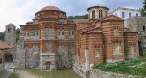 Монастырь Осиос Лукас в Греции