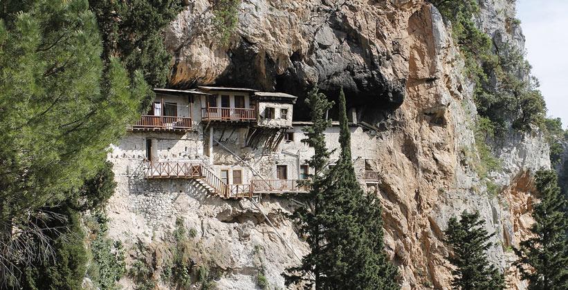 Монастырь Продрому в Греции