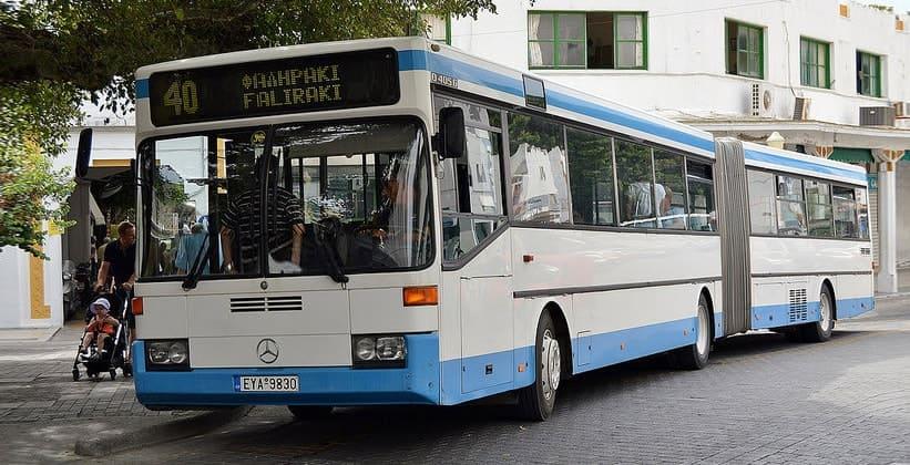 Муниципальные автобусы Греции