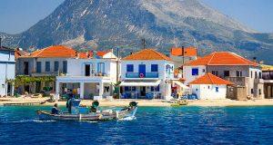 Поселение Митикас в Греции