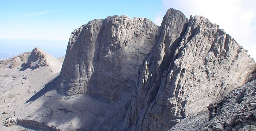 Вершина Митикас на горе Олимп (Греция)