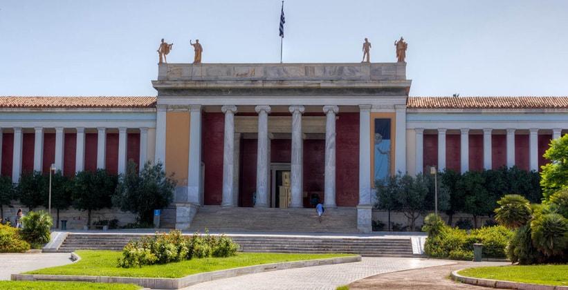 Национальный археологический музей в Афинах (Греция)