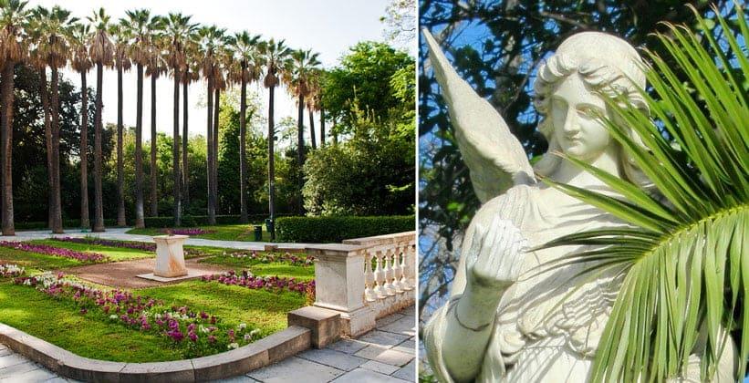 Национальный сад в Афинах (Греция)