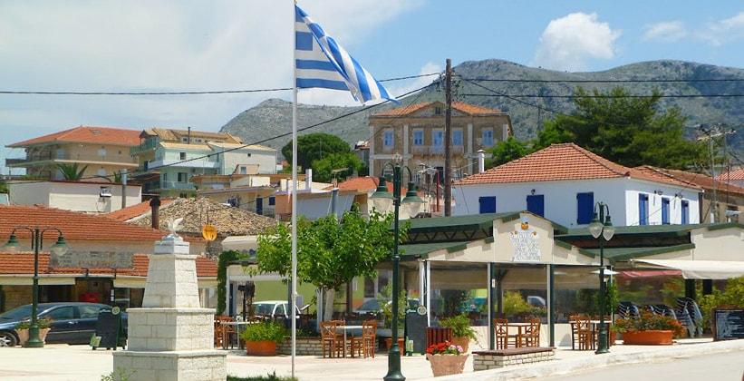 Курорт Палерос в Греции