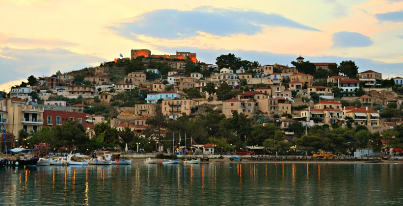 Курорт Паралио-Астрос в Греции