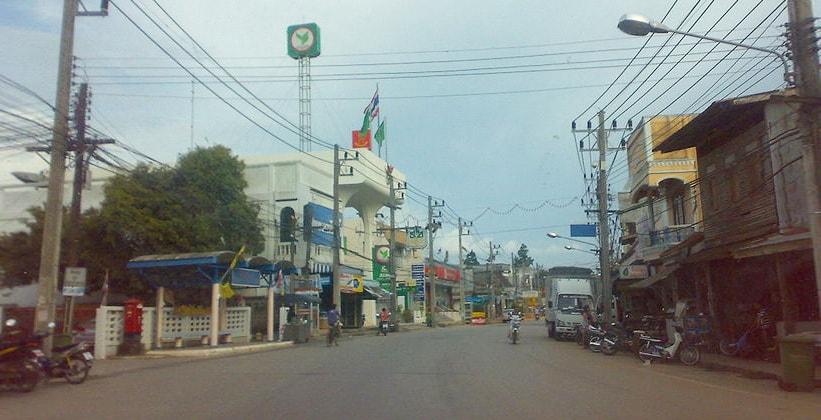 Город Пхангнга в Таиланде