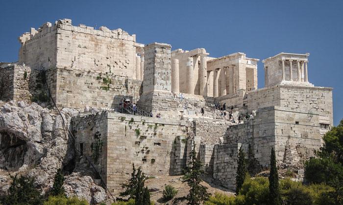 Пропилеи Акрополя Афин