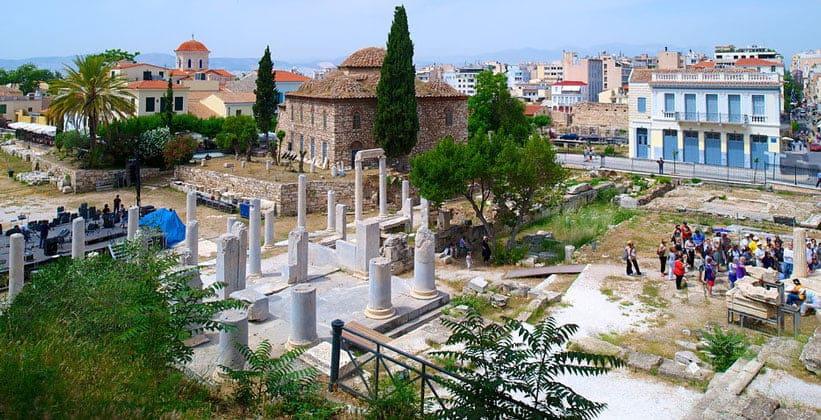 Римская Агора в Афинах (Греция)