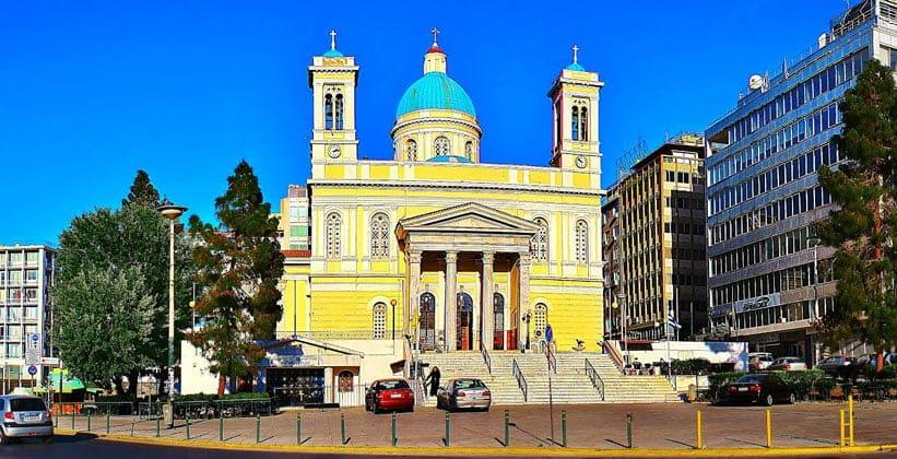 Церковь Святого Николая в Пирее (Греция)